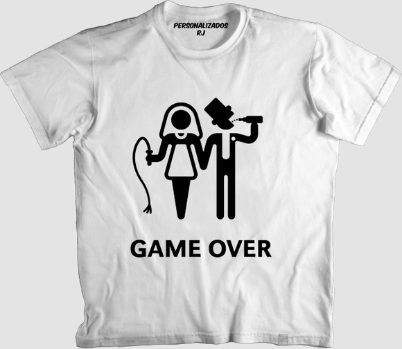 Camisa GAME OVER 002
