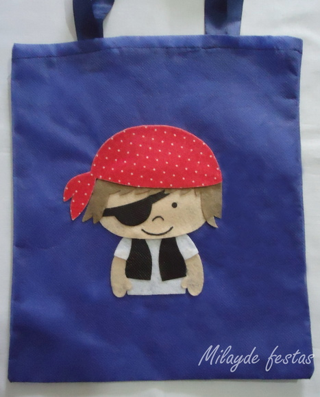 Ecobag pirata