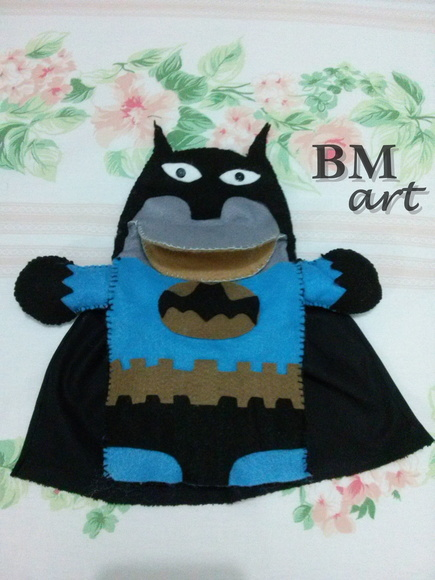 Fantoche do Batman com Boca articulada
