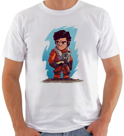 Camiseta Star Wars #14 Poe Dameron