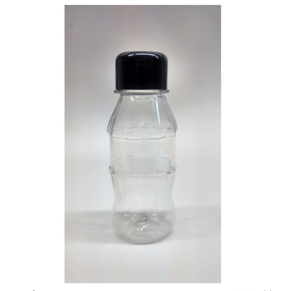 Mini Garrafinha Pet 100ml Preto