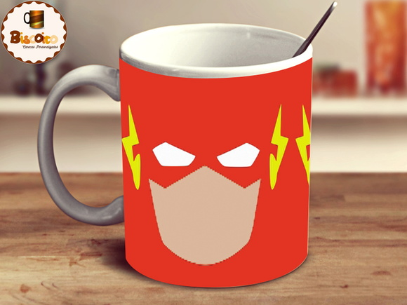 Caneca dc comics the flash