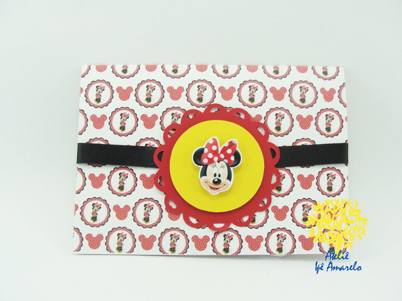 Convite Minnie Pop up
