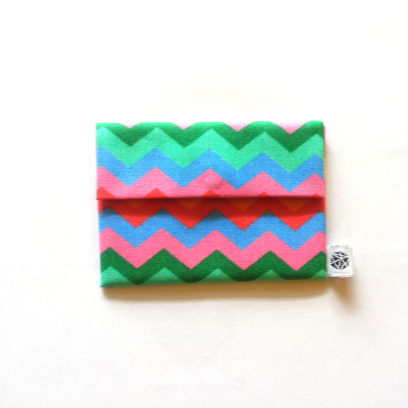 Mini Porta Moedas - Chevron Color