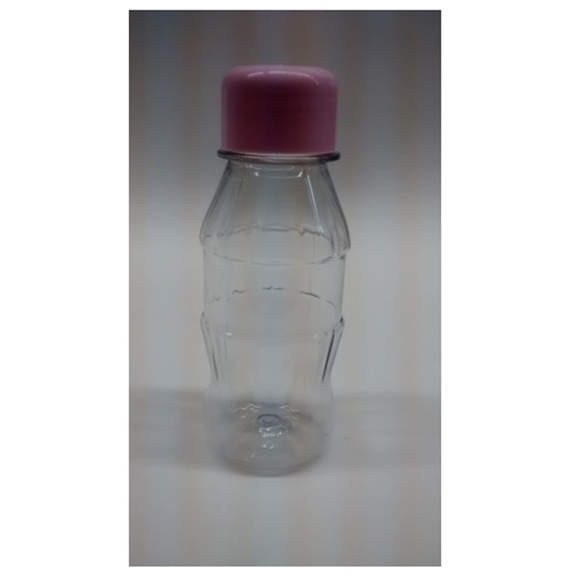 10 Mini Garrafinha Pet 100ml - Rosa