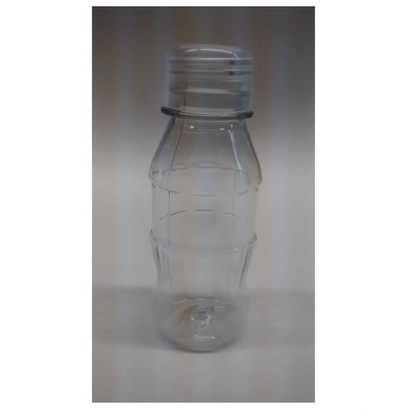 Mini Garrafinha Pet 100ml - Transparente
