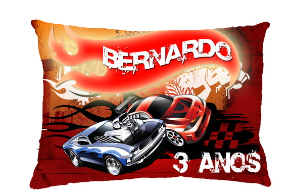 ALMOFADAS HOT WHEELS 20x30cm