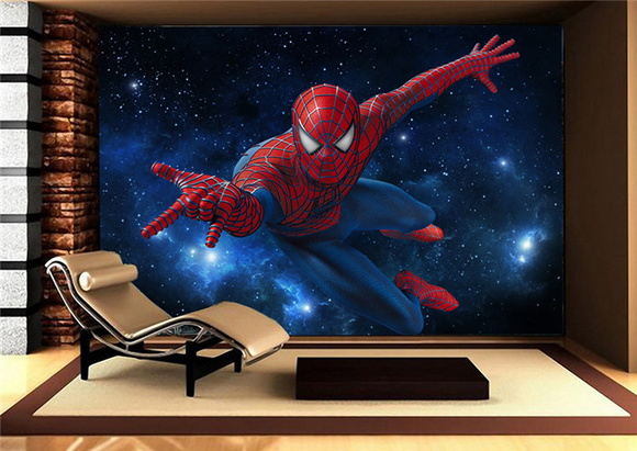 painel homem aranha elo7. Black Bedroom Furniture Sets. Home Design Ideas