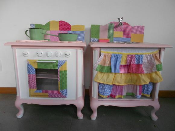 Armario Fruteira ~ Cozinha Infantil de Madeira Elo7