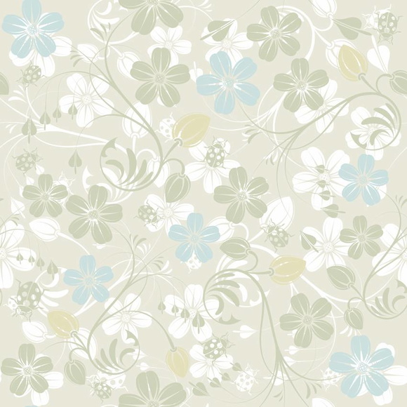 Papel de parede textura floral elo7 for Papel de pared para dormitorio