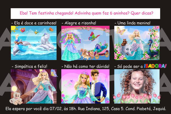 Barbie A Princesa da Ilha