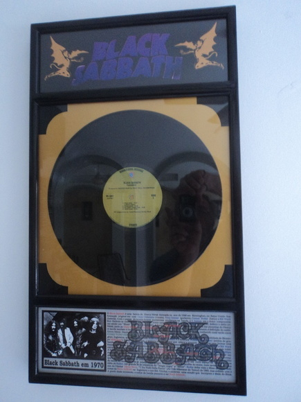 "Quadro BLACK SABBATH Model.""C"""