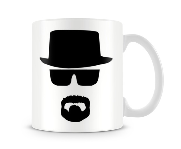 Caneca Breaking Bad Walter White Shadow