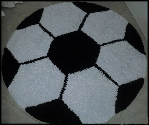 e2446a551 tapete bola futebol no Elo7