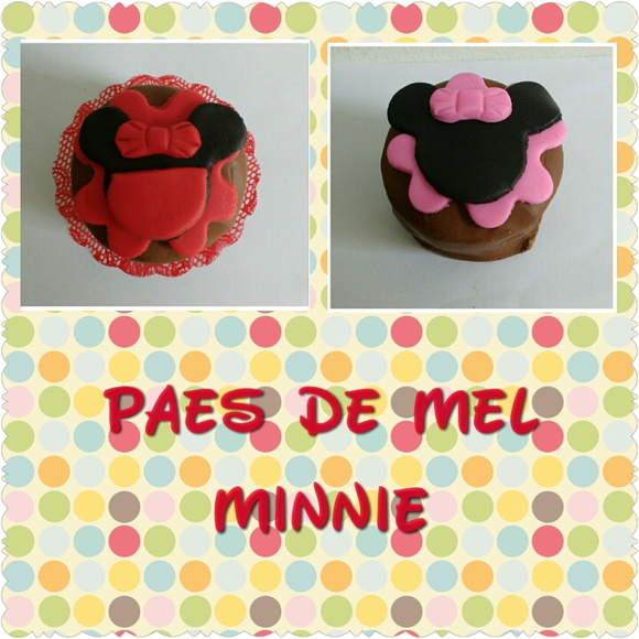 Mini Pão de Mel Minnie
