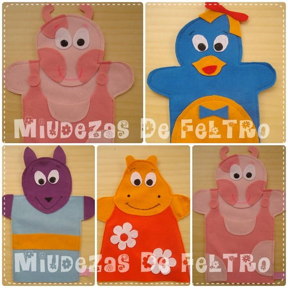 "Kit MINI FANTOCHE ""BACKYARDIGANS"""