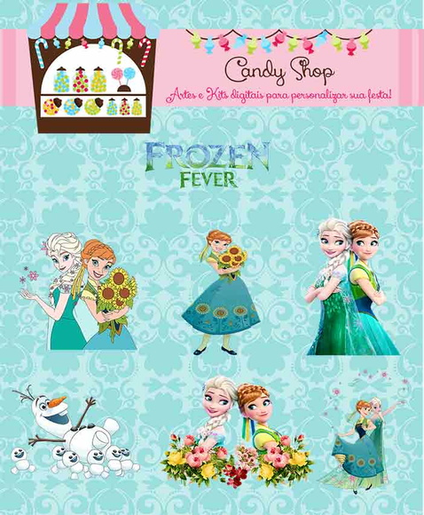 Mega Kit Digital Frozen + Frozen Fever