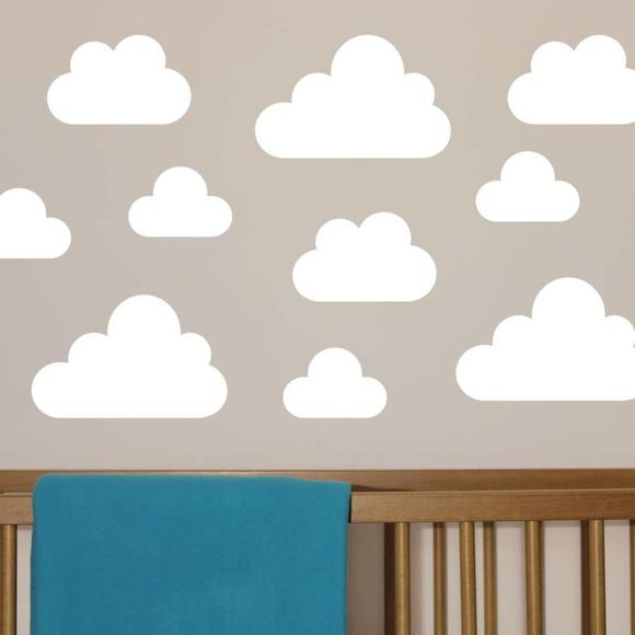 Aparador Barba E Corpo ~ Adesivo de Nuvens! Adesivos e Decorações AUM Elo7
