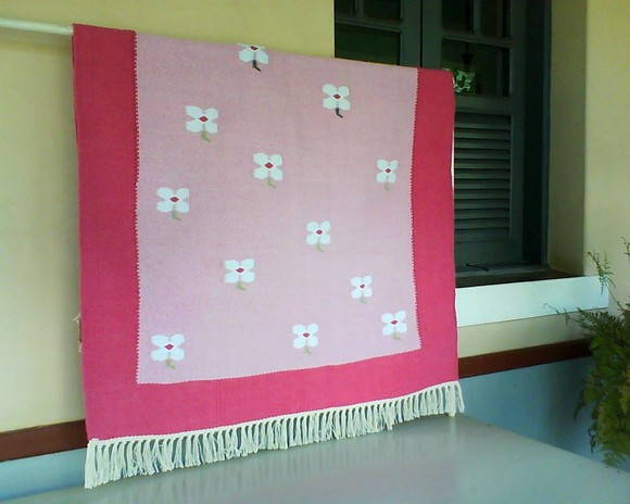 Tapete cor de rosa elo7 for Tapete pink