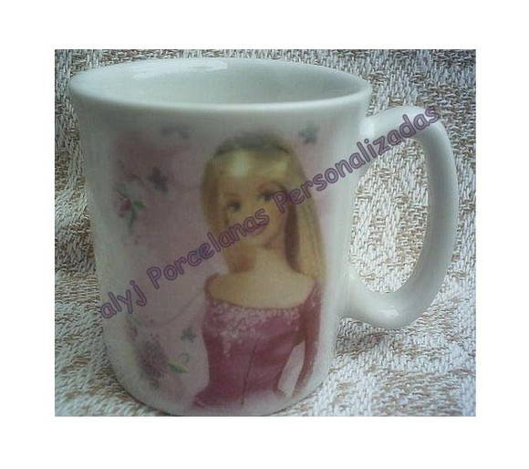 Mini Caneca Porcelana - Barbie