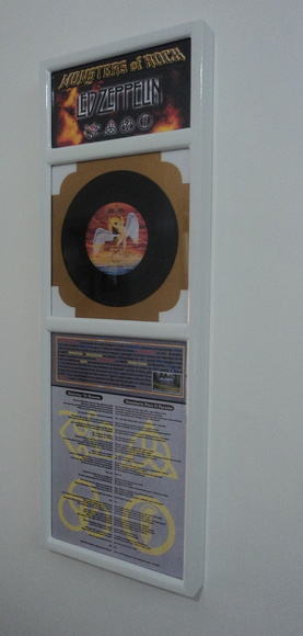 "Quadro LED ZEPPELIN Model. ""E1"""