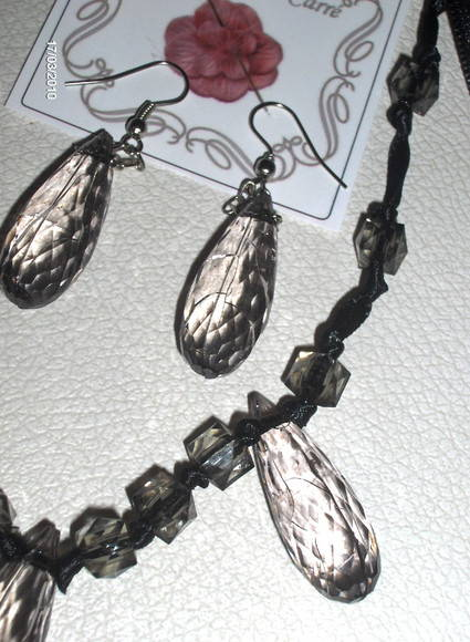 Conjunto Colar e brincos Night
