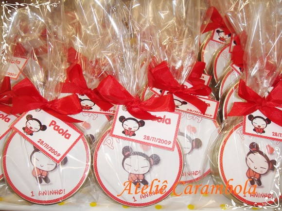 Latinha mint to be Pucca 7x2 cm