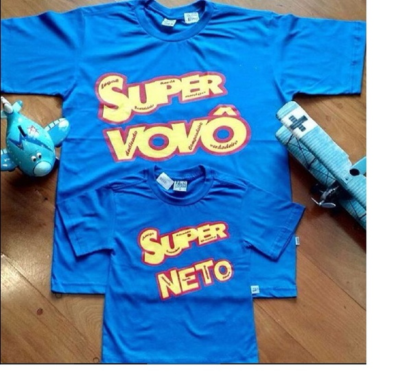 CAMISETA SUPER VOVÔ