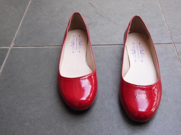 87bd39fe18 Sapatilha Vermelha Verniz