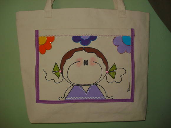 ECO BAG DE LONA CRU.