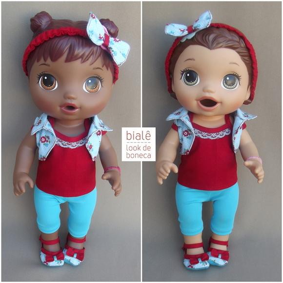 Look Passeio Baby Alives Menores No Elo7 Bial 234 72da6c