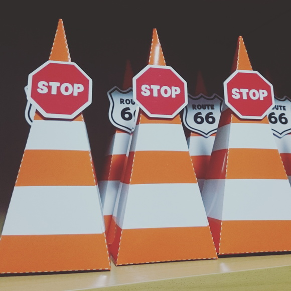 Caixinha Cone De Transito Caixinha Cone