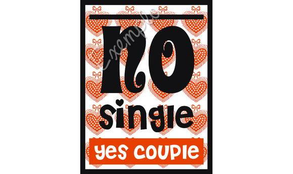 ~ Plaquinha No Single/Yes Couple ~