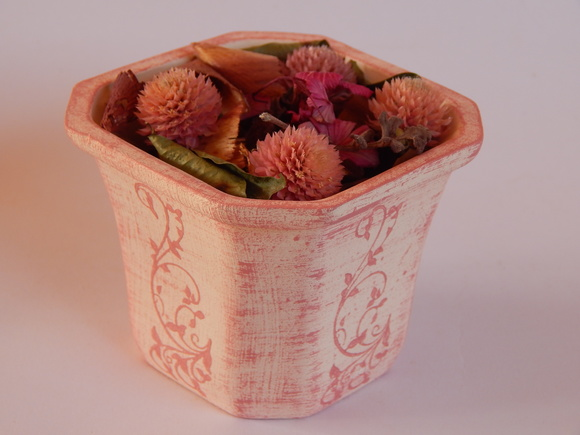 Painel de bambu para vaso de flores elo7 - Porta pout pourri ...