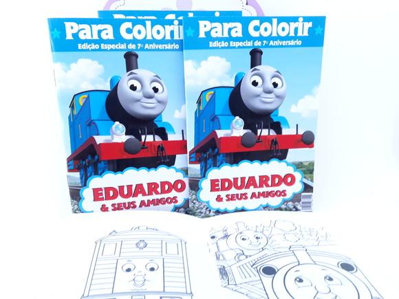 Revistinha Colorir Thomas E Seus Amigos No Elo7