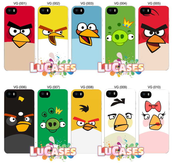 Capa Capinha Angry Birds Red Chuck