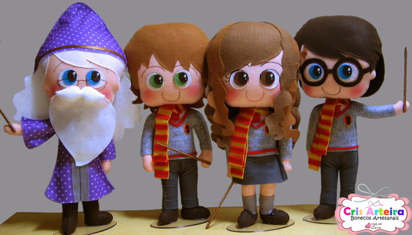 Kit Harry Potter - 40 cm