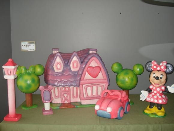 Kit minnie house