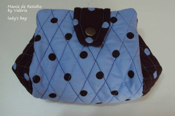 Lady's Bag by Valéria (blue)