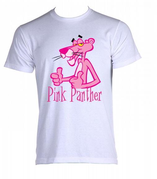 Camiseta Pantera Cor de Rosa 03