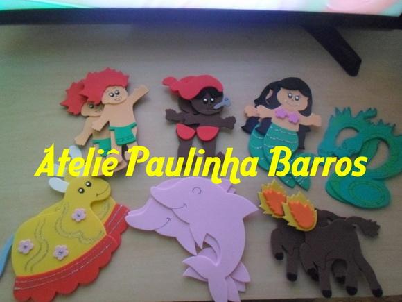 Painel Dia Do Folclore: Apliques Dia Do Folclore No Elo7