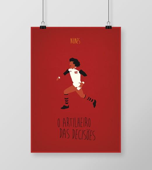 d5167c2e41 Poster Nunes Flamengo