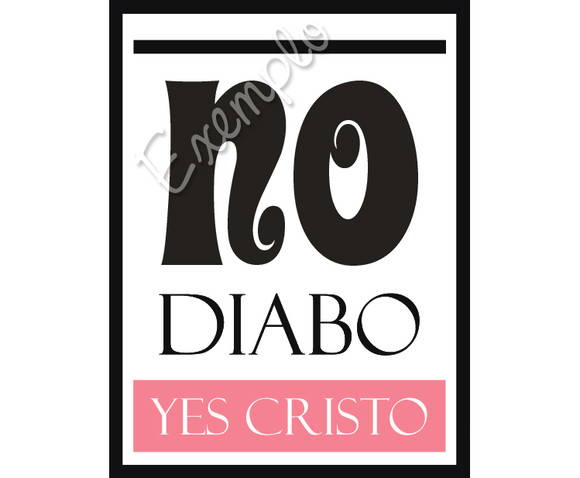 ~ Plaquinha No Diabo / Yes Cristo ~