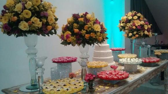 Decoraç u00e3o Floral Festa aniversário no Elo7 Balaio de Emoções (7AF1F7) -> Decoração De Flores Festa