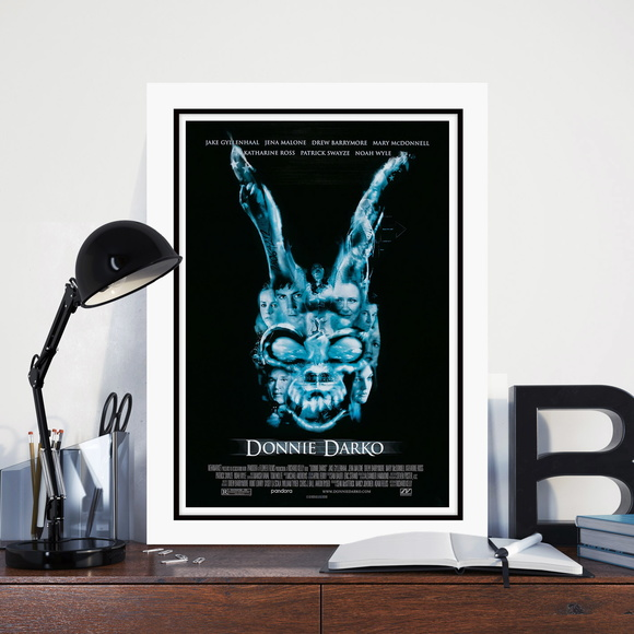 Quadro Filme Cinema Donnie Darko 60x40cm N7 Decoracao Sala