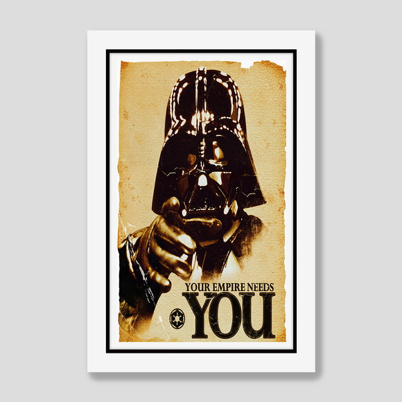 Quadro Star Wars 60x40cm Darth Vader 98