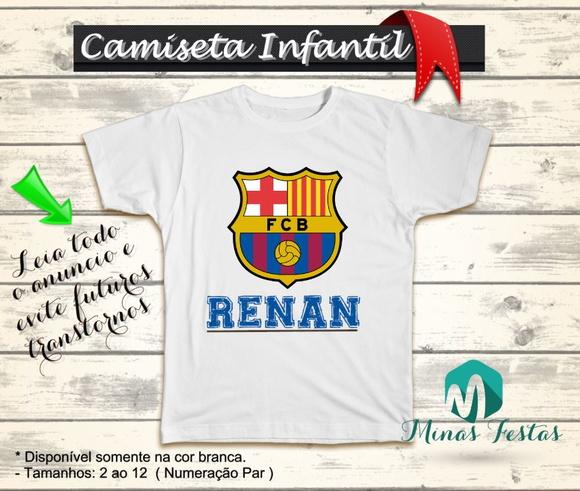 Camiseta Barcelona Futebol  6de1ccc2d08bf