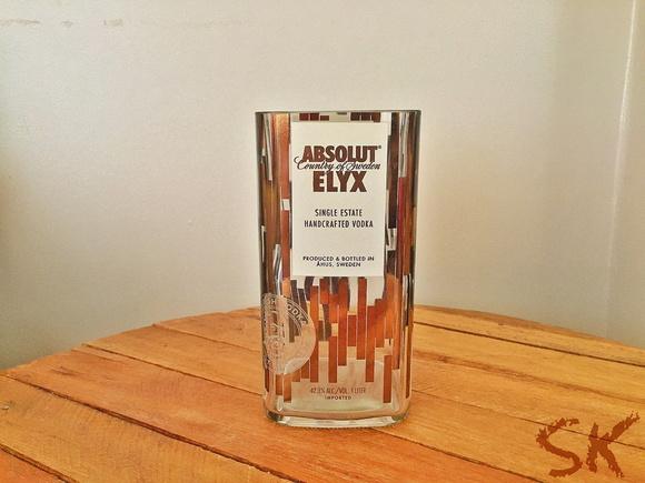 Super copo de garrafa absolut elyx no elo7 sk eco store for Super copo