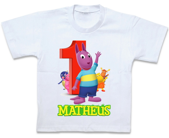 Camiseta Backyardigans Austin