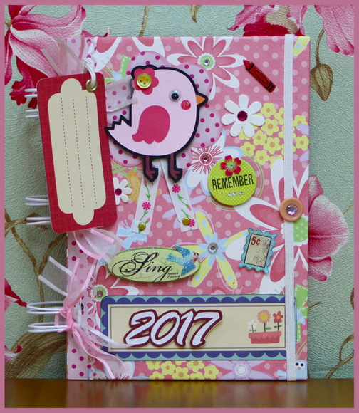 Agenda 2017 Scrapbook - Pretty Bird